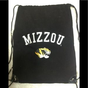 Other - MIZZOU fleece drawstring backpack